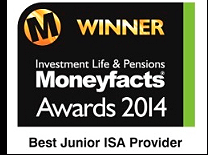 Winner Moneyfacts awards 2014