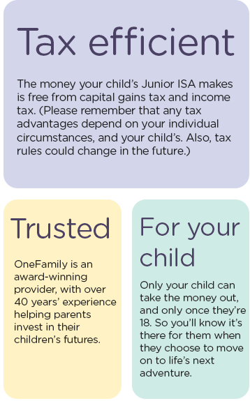 Tax efficient - Truster - For your child