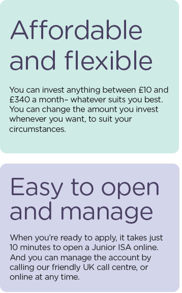 Affordable and flexible - Easy to open and manage