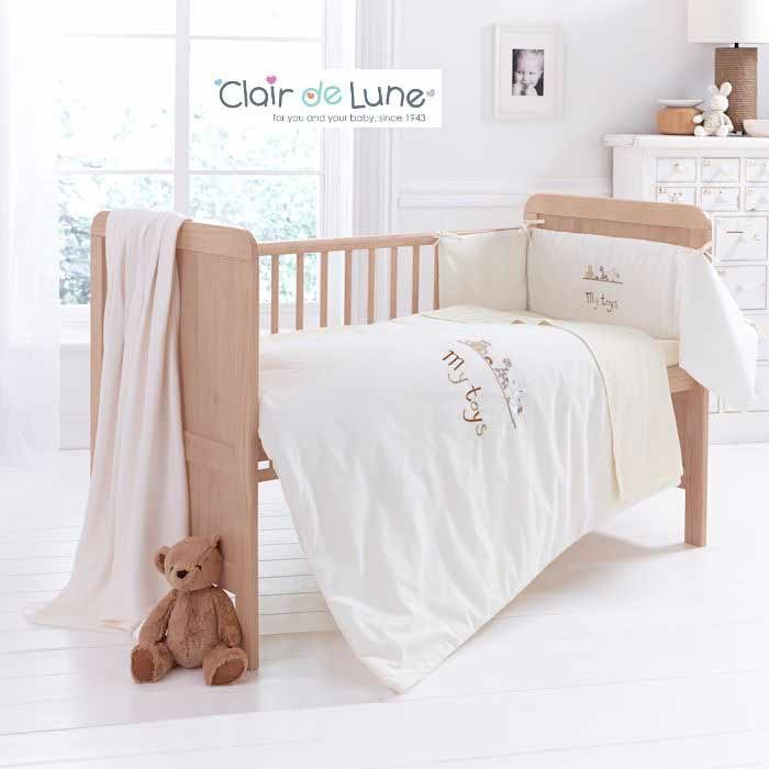 Clair De Lune 4 Piece My Toys Cot Bed Bedding Set