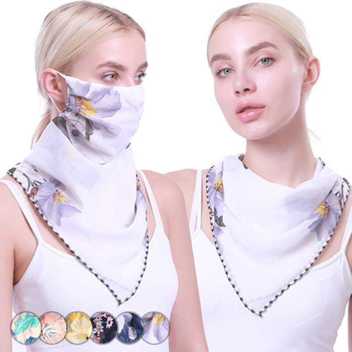 2-in-1 Scarf & Face Covering - 6 Colours