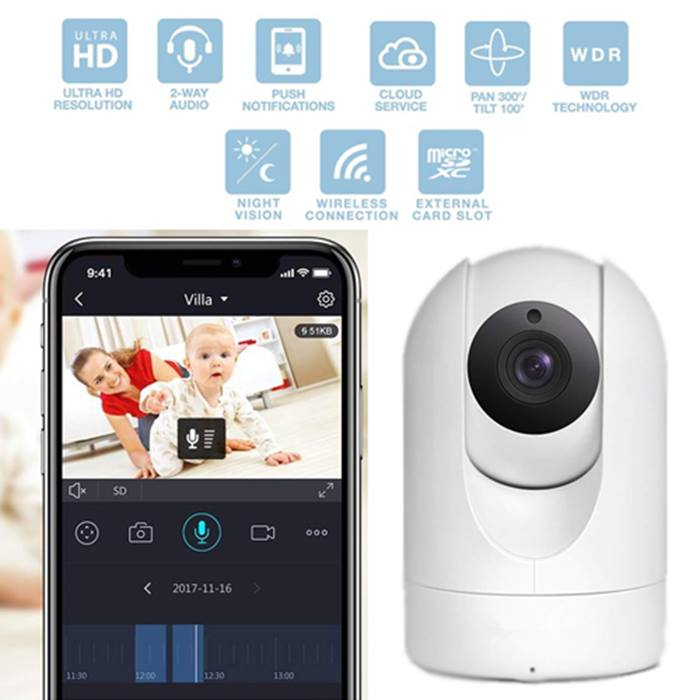 Wireless baby cam