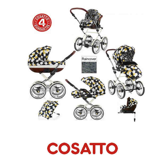 Cosatto Limited Edition 3 in 1 Wonder Travel System  Hepburn