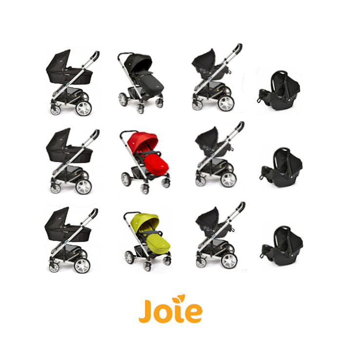 Joie Chrome Silver frame - gemm car seat