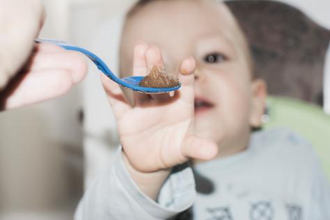 Baby batting spoon