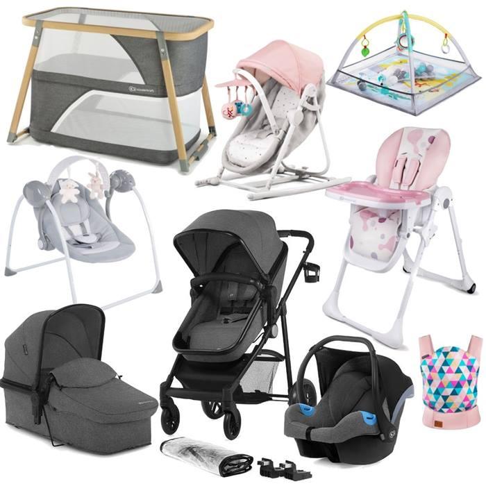 Kinderkraft Juli Newborn Starter Bundle