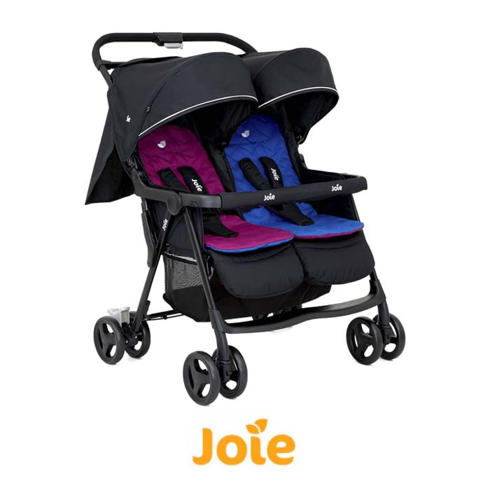 Joie Aire Twin Stroller Rosy Sea