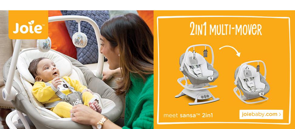 Joie 2 in 1 Multi-mover - Meet sansa 2in1