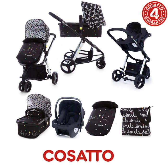 Cosatto Giggle 2 Combi 3 in 1 Hold Travel System