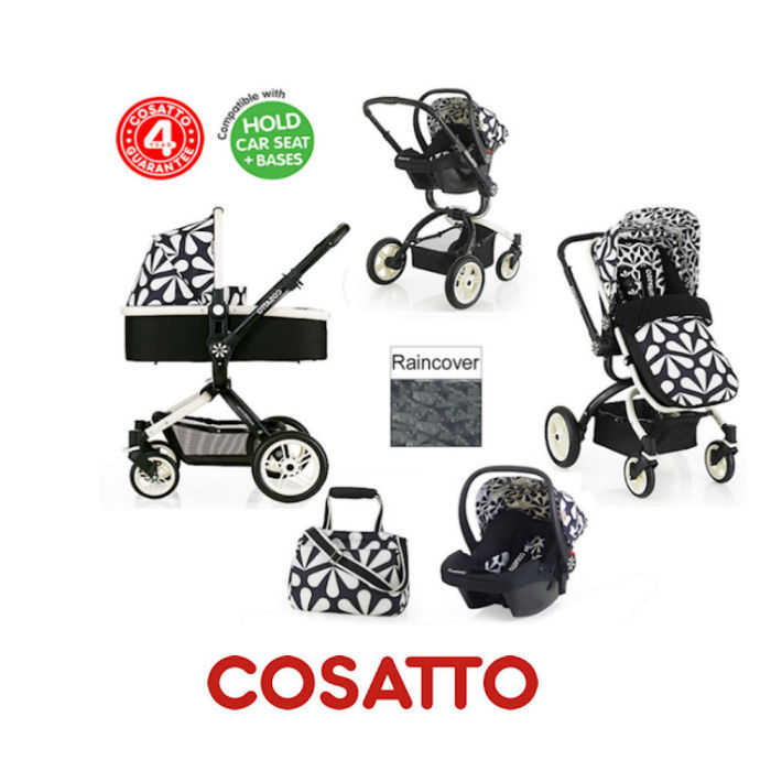 Cosatto Ooba 3 in 1 Travel System - Charleston