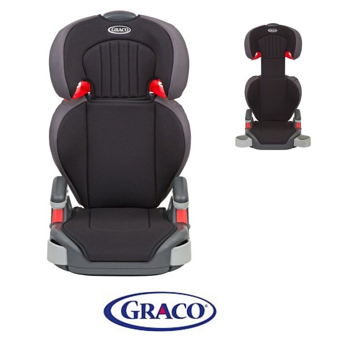 Graco Junior Maxi Group 2/3 Booster Car Seat - Black