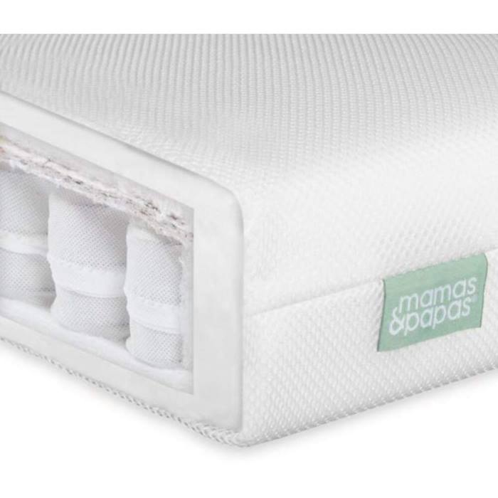 Mamas & Papas Premium Pocket Spring Cot Mattress (120 x 60cm)