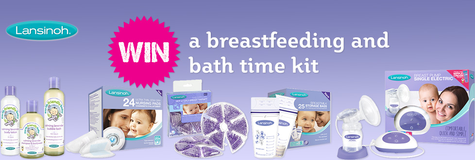 Lansinoh - Win a breastfeeding and bath time kit
