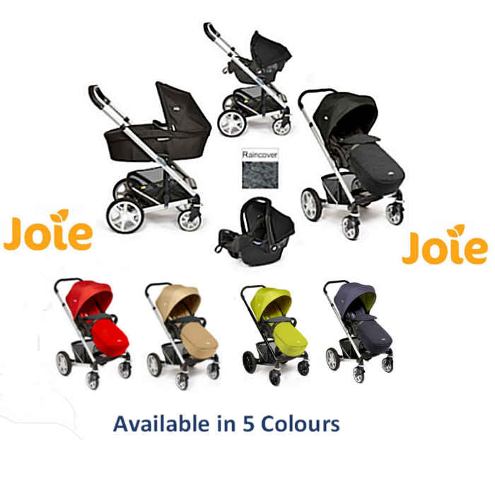 Joie Chrome Plus Travel System  Carry Cot