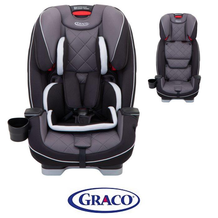 Graco Slimfit LX Group 0+123 Car Seat - Slate
