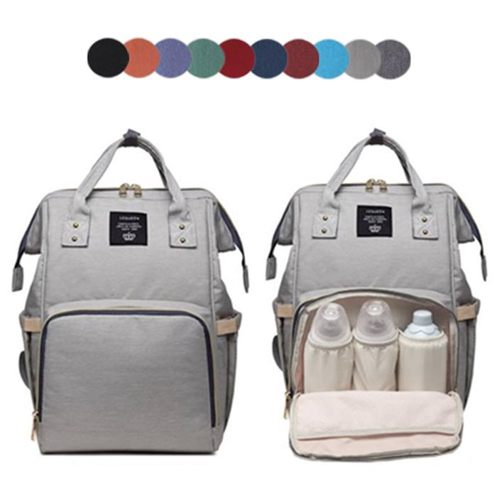 Multi-Functional Baby Changing Bag - 10 Colours