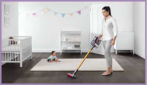 Cord free vacuums