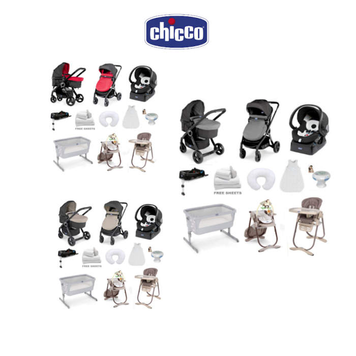 Chicco Deluxe 8 Piece Offer Bundle 16 - Urban Plus