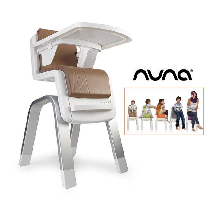 Nuna Zaaz Highchair - Almond