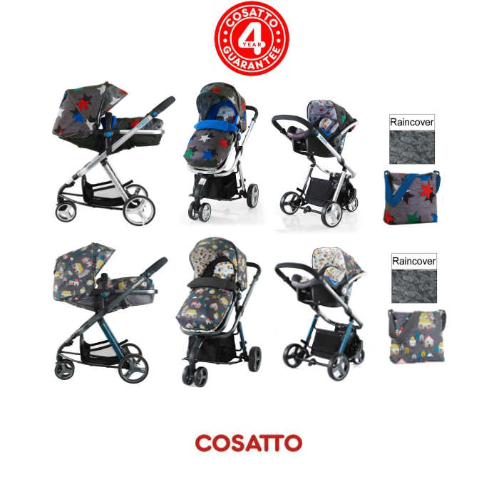 Cosatto Woop Travel System new