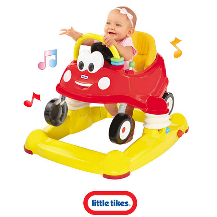 Little Tikes 3in1 Cozy Coupe Musical Walker - Entertainer