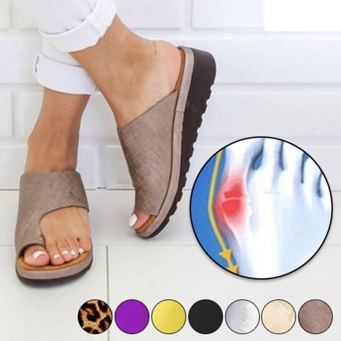 OrthoSupport Platform Sandals - 6 Sizes & 7 Colours