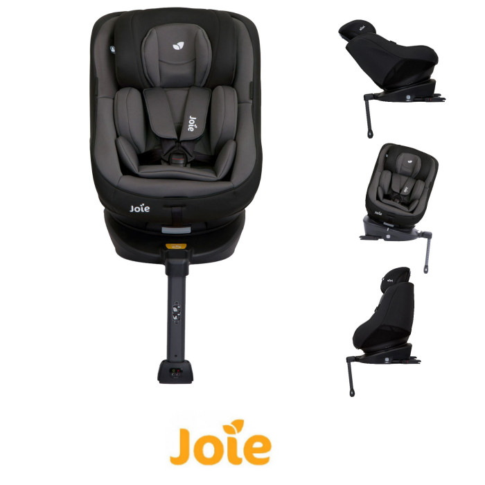 Joie Spin 360 Group 01 Isofix Car Seat Ember