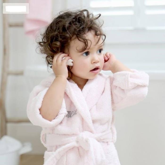 My1stYears pink robe