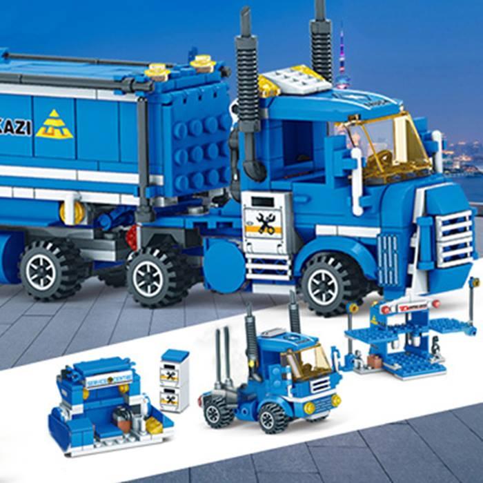Cargo Building Blocks