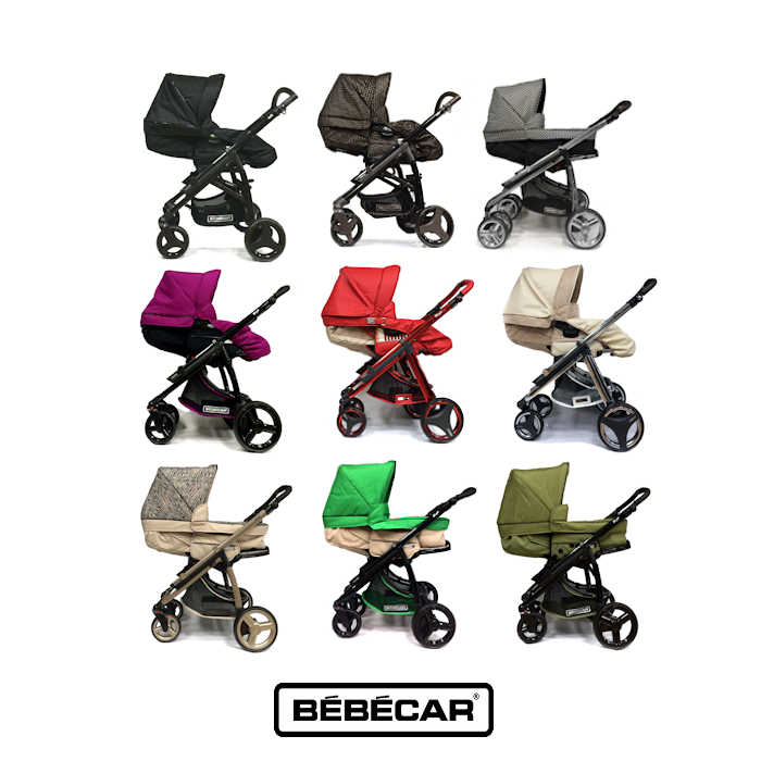 Bebecar  2 in1-3 in1 Pram - Pushchair