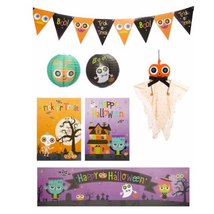 Asda-halloween decoration set