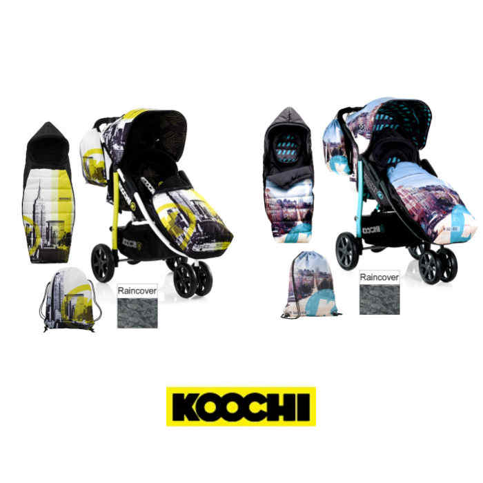 Koochi Pushmatic Stroller