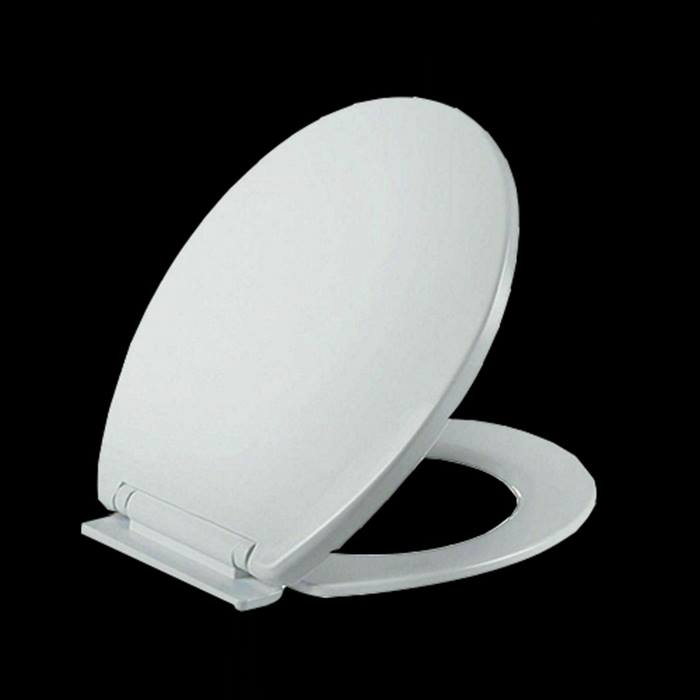 Soft-Close Toilet Seat With Fixings