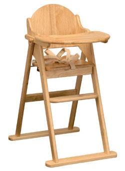 East Coast Nursery folding highchair