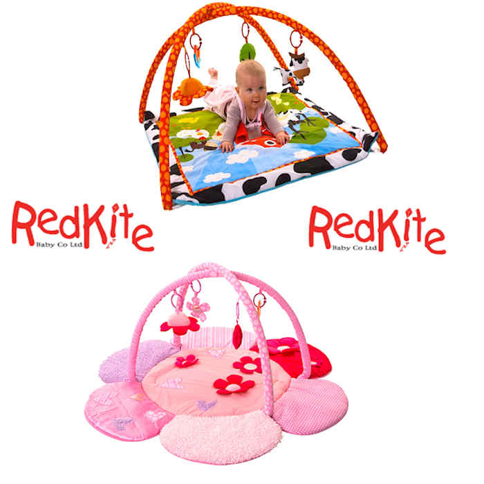 Red Kite Deluxe Activity Play Gym  Play Mat - Farm Yard