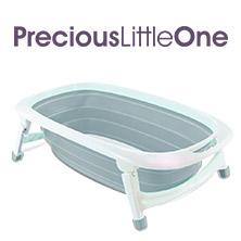 Win 1 of 4 x iSafe Flat Foldable Baby Bath (Grey)