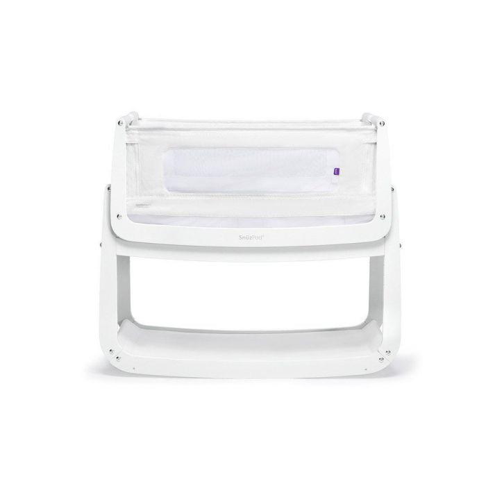 Snuzpod4 Crib with Mattress - White