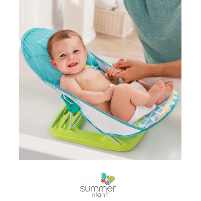 Summer Infant Deluxe Baby Bather Bath Seat