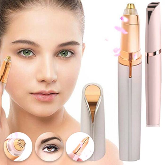 Eyebrow Precision Trimmer and Hair Remover - 2 Colours