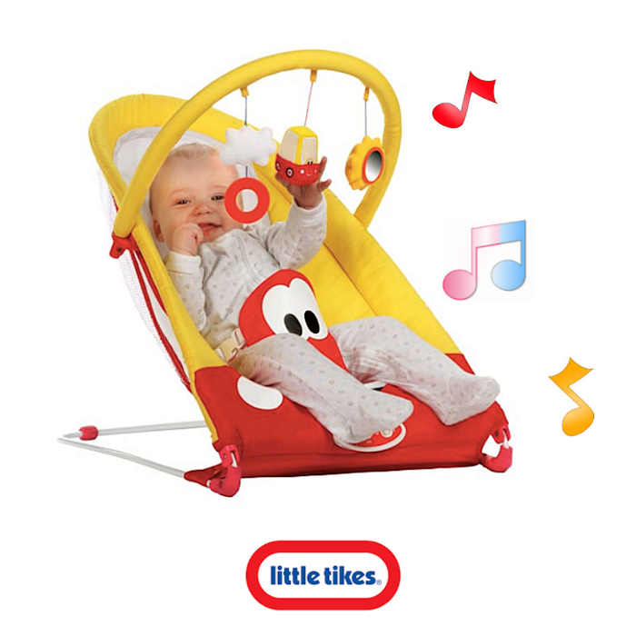 Little Tikes Cozy Coupe Bouncer - Red - Yellow