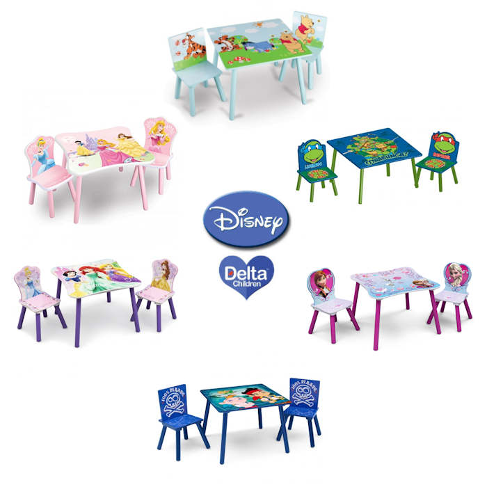 Delta Children Disney Table and Chairs Set