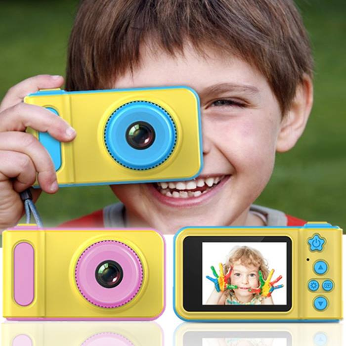 Kids 1080p HD Camera & Video Recorder + Optional 16GB Memory Card