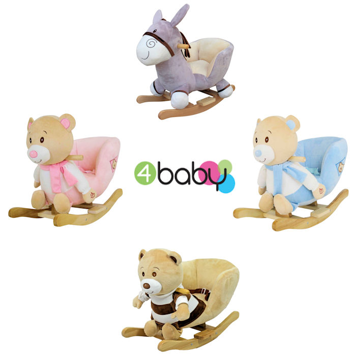 4baby Luxurious Padded Musical Rocking Toy