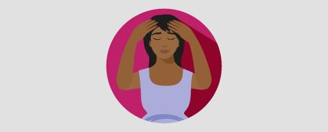 Persistent severe headache