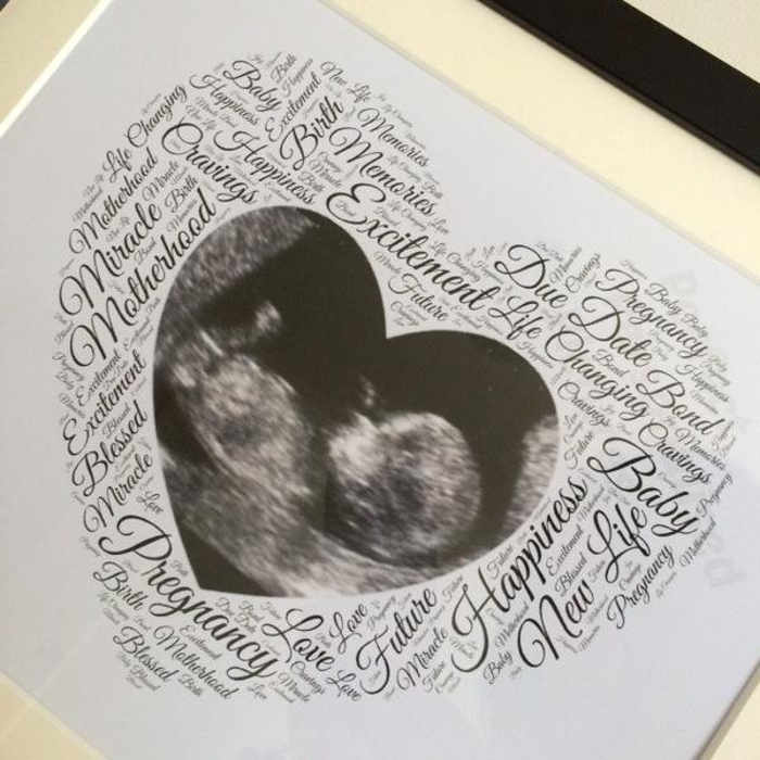 personalised scan keepsake print image 2