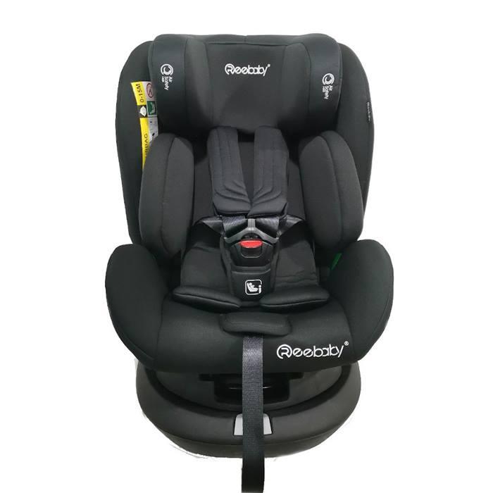 Reebaby Swan 360 Spin iSize 0+123 Car Seat (Black)