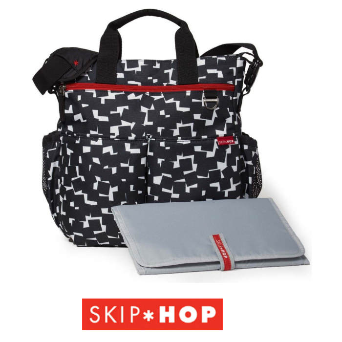 Skip Hop Duo Signature Changing Bag - Cubes