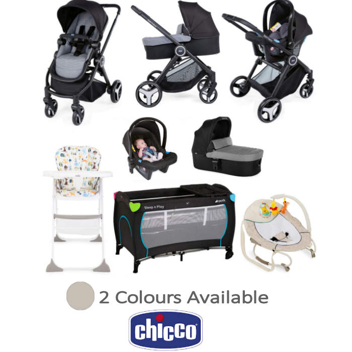 Chicco Trio Best Friend 3-in-1 Everything You Need Travel System Bundle