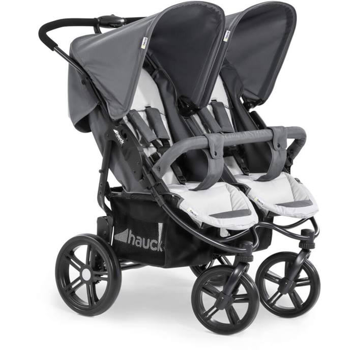 Hauck Roadster Duo SLX Twin (Grey/Silver)