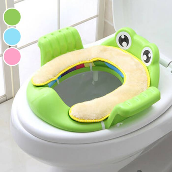 Frog Potty Training Toilet Seat - 3 Colours